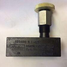 Parker Hydraulic Valve control SQS600 SI-13 EJ2EL NOS