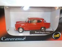 Ford Anglia -Red 1:43 SCALE Diecast Metal Model, 1/43 Scale