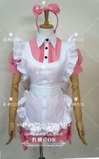 Anime Black Butler Ciel in Wonderland Manga Maid uniform Cosplay Costume Dress