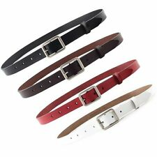 Unbranded Leather Skinny Belts for Women