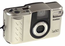 Konica Z-UP 60 Auto Date Title DX 35mm Camera Zoom 35-60mm Case Strap Automatic