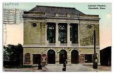 1919 Colonial Theatre, Pittsfield, MA Postcard