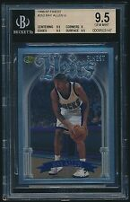 1996-97 Finest Silver rookie #252 Ray Allen rc BGS 9.5