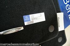 Mercedes Benz Original C 219 CLS Coupe Satz Velours Fussmatten Schwarz Neu OVP