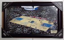 2014-15 Dallas Mavericks Signature Court (Highland Mint) Limited Edition - LOW #