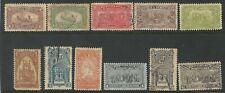 Dominikanische Republik: 1899; Scott 100 - 100A,11 Val. Verschiedene Mint Hinged
