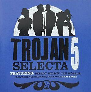 TROJAN SELECTA VOLUME 5 - EU PRESS U.K. ROOTS REGGAE CD - 2007