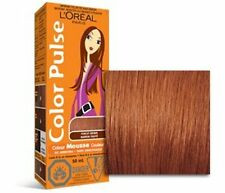 Color Pulse By Loreal,  Non-Permanent Hair Color Mousse, Punchy Brown, 1 Ea