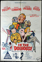 IN THE DOGHOUSE Leslie Phillips Hattie Jacques ORIGINAL One Sheet Movie poster