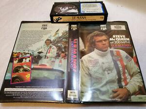 LE MANS - Steve McQueen at 200MPH! (1971) - Rare CBS/FOX BETAMAX 1st Issue DRAMA