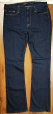 Jen7 by 7 for all Mankind Mid-Rise Slim Bootcut sz 10 Womens Jeans Overdye EUC