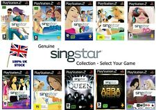 PS2 / PS3 - SINGSTAR GAME SERIES - Legends Rocks 80s 90s Party Abba - 500+ SOLD