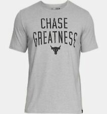 Under Armour Heatgear Ua x Project Rock T-Shirt Choose Size Men Chase Greatness