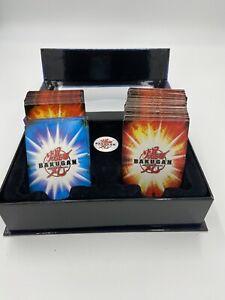 Bakugan Battle Brawlers Card HUGE Lot Of 66 Metal Cards 80 Regular Cards