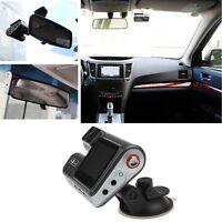 Vehicle 1080P HD Car DVR Camera Video Recorder Dash Cam G-Sensor GPS Dual Lens
