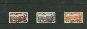 STAMPS   NEW ZEALAND   1931   AIR MAIL SET OF 3  FINE USED