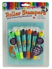 NEW Kal Roller Stamper & Colouring Book from Mr Toys