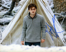DANIEL RADCLIFFE autograph signed 8x10 photo HARRY POTTER COA