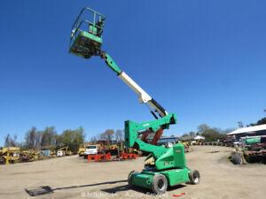2012 JLG E400AN 40' Electric Articulating Boom Lift Man Aerial Platform bidadoo