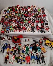 70+ Huge of Playmobile people animals horse knights pirates soccer monkey king