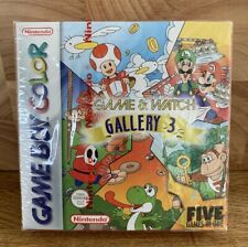 GAMEBOY Color Game & Watch Gallery 3 Game Brand New & Sealed Nintendo 2000