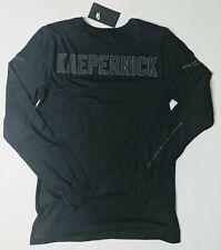 Nike Colin Kaepernick Long Sleeve Shirt Black 3M Reflective Size S CJ9107 010