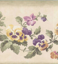 FLOWER WALLBORDER PAPER B4188
