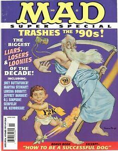 Mad Magazine Super Special #141 November 1999 ~ Excellent