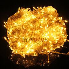 300/400/600 LED Xmas String Fairy Lights Wedding Christmas Party Outdoor Decor