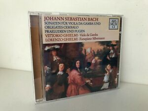 Bach Sonates Pour Viole Et Clavecin Oblige  Lorenzo Ghielmi