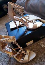Badgley Mischka 'Dent' Crystal Embellished T-Strap Sandal Size 7