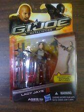 GI JOE Retaliation Lady Jaye Figure NEW FREE SHIP US