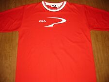 FILA ringer jersey large retro polyester Italy vtg