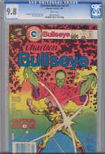 Bullseye V2  #7 CGC 9.8:1981 Captain Atom Charlton Comic rare Grade Make Offer!