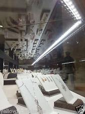 "40"" 1 Meter 12V 72 LED 5630 SMD Hard Strip Light Aluminum Shell Under Cabinet"