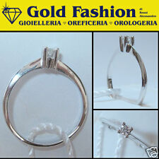 Anello in oro 18 K e diamante - cod. GFA 2100