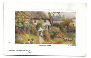 Artist Drawn Postcard Raphael Tuck Oilette A R Quinton 9739 Houghton Sussex