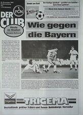 Programm 1993/94 1. FC Nürnberg - Borussia Dortmund