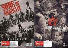 Sons Of Anarchy Complete Season 5 & 6 : NEW DVD