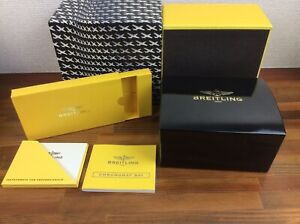 Breitling Chronomat B01 Watch Box + Booklet + FREE SHIPPING