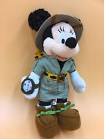 """Disney Mickey Mouse Soft Toy Explorer 12"""" High New With Tag Collectable"""