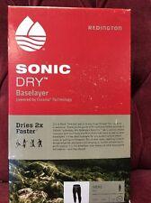 Redington Fly Fishing Sonic Dry Base Layer Pant XXL Coal Cocona Technology