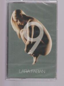 """Lara Fabian Cassette K7 Tape """" 9 """" La Lettre ... Neuf New Neu"""