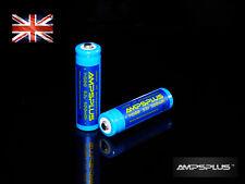 2x 14500 3.2v 500mAh IFR Lithium LiFePO4 AA Li-Ion Battery Solar Lights LED UK