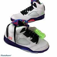 Nike Air Jordan Retro V 5 BEL AIR Alternate 2020 Ghost Green DB3335-100 Men's 11