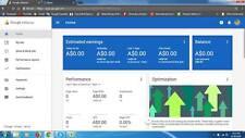 google adsense Australia non hosted account for website