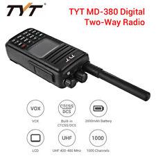 TYT MD-380 400-480MHz UHF Tier II DMR Digital 2-Way Radio Handheld Transceiver