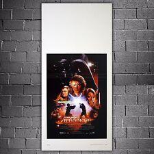 Original Poster Star Wars La Vendetta Dei Sith - Revenge of the Sith - 33x70 CM