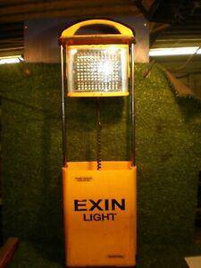 Exin Light Rechargable Portable LED Site Light / Work Light VAT included