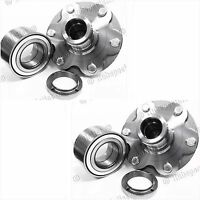 FRONT WHEEL HUB & BEARING FOR 2001-2007 TOYOTA TUNDRA 2WD ONLY PAIR  NEW